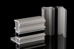 Aluminium profile sample Royalty Free Stock Photo