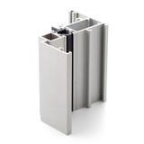 Aluminium profile sample Royalty Free Stock Photography