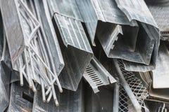 Aluminium profiles Royalty Free Stock Image
