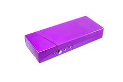 Aluminium pudełko fotografia stock