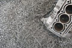 Aluminium-Réutilisation photos stock
