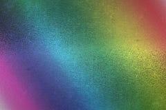 Aluminium rainbow color Royalty Free Stock Images