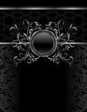 aluminium ramowy luksusowy szablonu rocznik Fotografia Stock