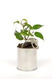 Aluminium recycle concept Royalty Free Stock Photo