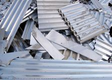 Aluminium recycling Royalty Free Stock Image