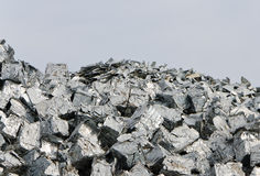 Aluminium recycling Stock Photography