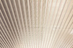 Aluminium sheet ceiling - used as background picture. Aluminium sheet ceiling, can be used as background picture Royalty Free Stock Photos