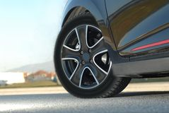 Aluminium sport wheel Stock Photography