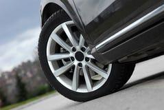 Aluminium sport wheel Stock Photo