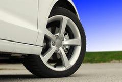 Aluminium sport wheel Stock Photography