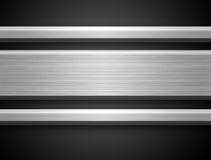 aluminium stångsilver Arkivfoton