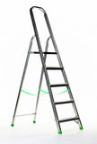 Aluminium stepladder Royalty Free Stock Photos