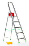 Aluminium stepladder Stock Images