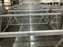 Aluminium Structure Stock Image