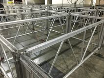 Aluminium Structure Royalty Free Stock Photo