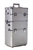 Aluminium suitacase Royalty Free Stock Image