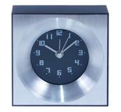 Aluminium table clock Royalty Free Stock Photography