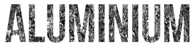 Aluminium stock photos