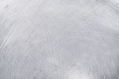 Aluminium texture background, scratches on stainless steel.  royalty free stock photography