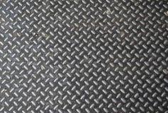 Aluminium texture. With Rhombus Shapes Stock Photography