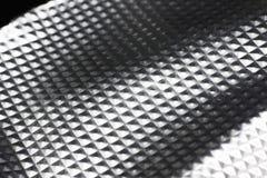 Aluminium tile background Stock Images