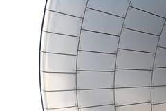 Aluminium tiles Stock Photo