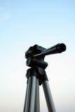 Aluminium tripod. Tripod on the sky Stock Photography