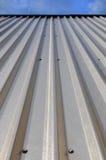 aluminium vägg Royaltyfri Fotografi
