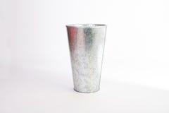 Aluminium vase Royalty Free Stock Images