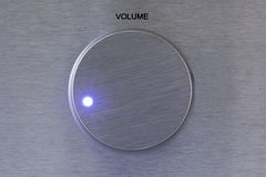 Aluminium Volume Controller with light Royalty Free Stock Photo