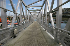 Aluminium walkway Stock Photos