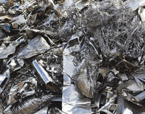 Aluminium waste Royalty Free Stock Photo