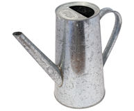 Aluminium watering can Stock Images