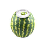 Aluminium watermelon Stock Image