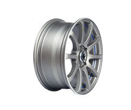 Aluminium wheel Royalty Free Stock Photo