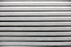 Aluminium white dark list with line shapes Stock Images