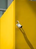 Aluminiumcamera met gesloten circuit voor veiligheid royalty-vrije stock afbeelding
