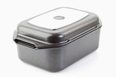 aluminiumcaststekpanna Fotografering för Bildbyråer