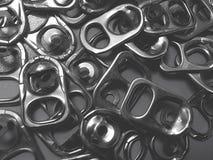 Aluminiumdeksel royalty-vrije stock afbeeldingen