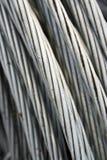 Aluminiumdraad Royalty-vrije Stock Foto's
