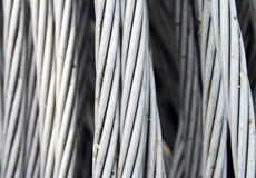 Aluminiumdraad Royalty-vrije Stock Afbeelding