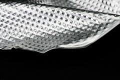 Aluminiumfliesenhintergrund Stockfotografie