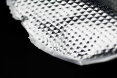 Aluminiumfliesenhintergrund Lizenzfreie Stockfotos