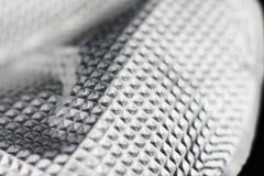 Aluminiumfliesenhintergrund Stockfoto