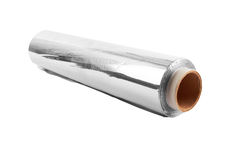 Aluminiumfolie Stockfotografie