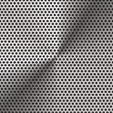 Aluminiumgitterbeschaffenheit und -hintergrund vektor abbildung