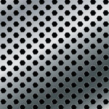Aluminiumhintergrund Vektormetallzusammenfassungshintergrund Lizenzfreie Stockfotografie