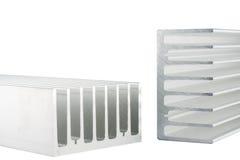 Aluminiumkühlkörper Stockbild