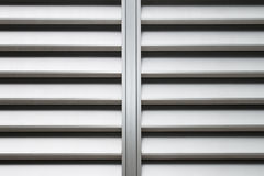 Aluminiummaterial solange der Hintergrund der Wand Lizenzfreie Stockfotos