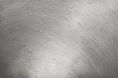Aluminiummetallbeschaffenheitshintergrund, Kratzer auf Polieredelstahl stock abbildung